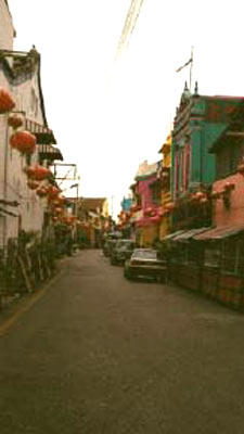 malacca streets building