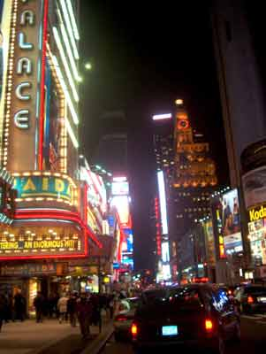 new york city pictures at night. next: New York City at night !